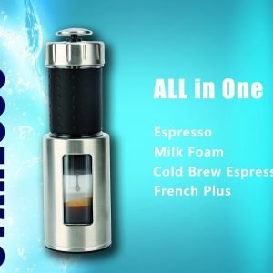 Staresso Coffee Maker with Espresso, Cappuccino and Quick Cold Brew